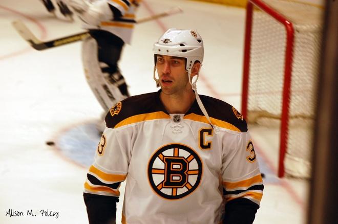 Zdeno Chara returns for his tenth season as the captain of the Boston Bruins (photo courtesy of Alison M. Foley)