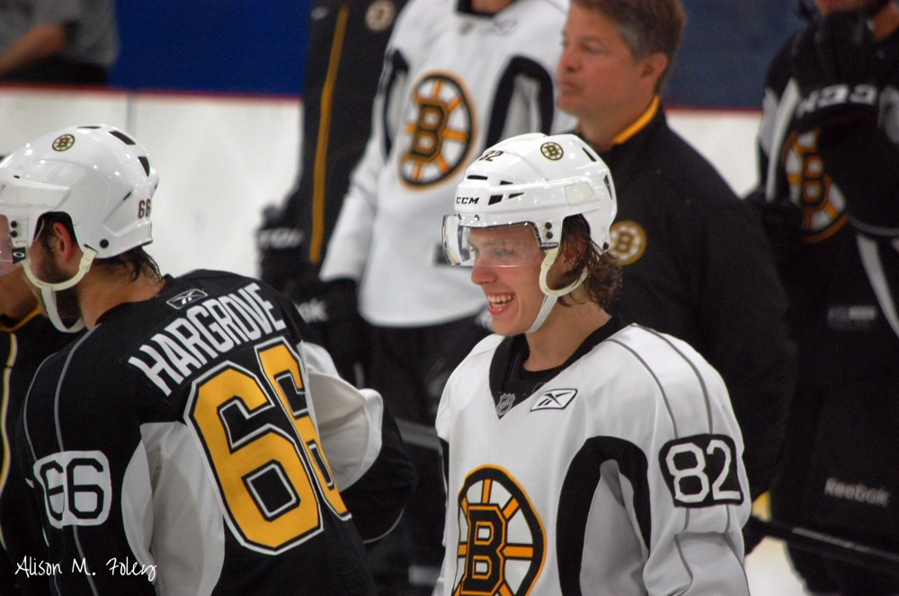 David Pastrnak is the player the Boston Bruins have been waiting for. (Photo courtesy of Alison M. Foley)