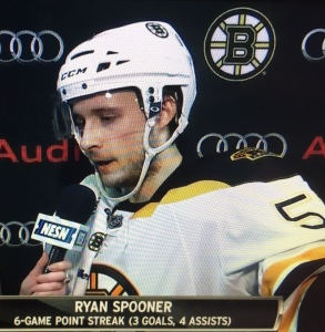 Ryan Spooner finally got the scoring monkey off his back last spring, and bigger things are expected of him in 2015-16