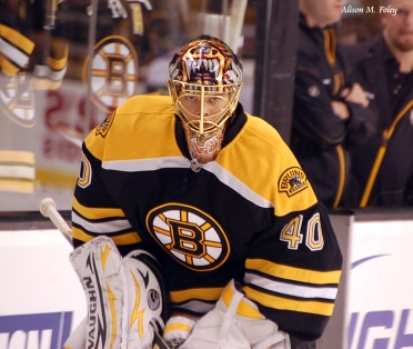 Tuukka Rask (Photo courtesy of Alison M. Foley)