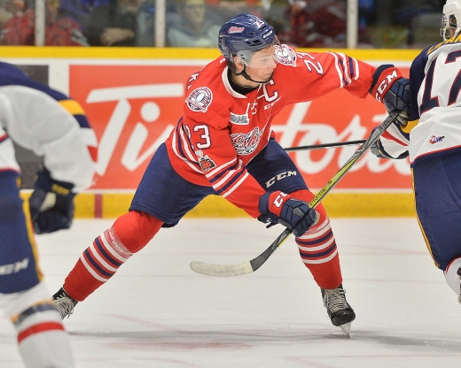 Jack Studnicka of the Oshawa Generals. Photo by Terry Wilson / OHL Images.